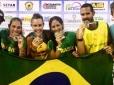 Brasil é campeão do Nations Cup de Beach Tennis
