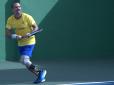 Brasileiro disputa o circuito mundial de tênis adaptado para deficientes