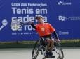 Começou a 1ª Copa das Federações de Tênis em Cadeira de Rodas
