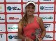 Ana Luiza Cruz conquista primeiro título da carreira em Londrina