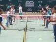 Crianças da rede pública participam de clínica durante Copa Vila Galé