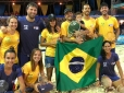 Brasil fatura 10 medalhas no Pan de Beach Tennis, em Aruba