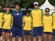 Brasil começa mundial de Beach Tennis com vitórias sobre a Polônia