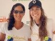 Joana Cortez e Samantha Barijan são campeãs do Caiobá Open de Beach Tennis