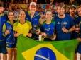 Brasil arrasa no Pan-Americano de Beach Tennis em Aruba