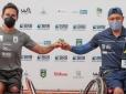 Favoritos são campeões de etapa da Copa BRB de Tênis em Cadeira de Rodas