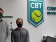 CBT recebe visita do presidente da Federação Cearense de Tênis