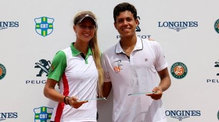 João Ferreira e Nathalia Gasparin disputam o Rendez-Vous à Roland Garros