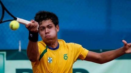 Time Correios Brasil disputa do 9 ao 12 lugar na Davis Junior Cup