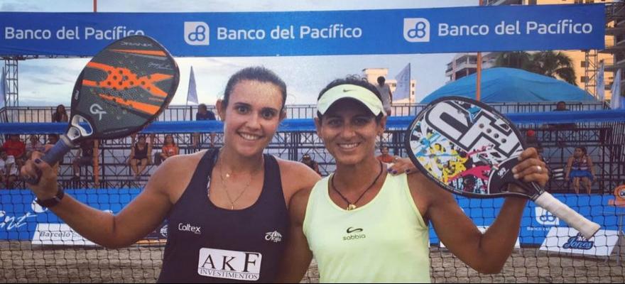 Joana Cortez e Rafaella Miller são vice-campeãs em Salinas, no Equador