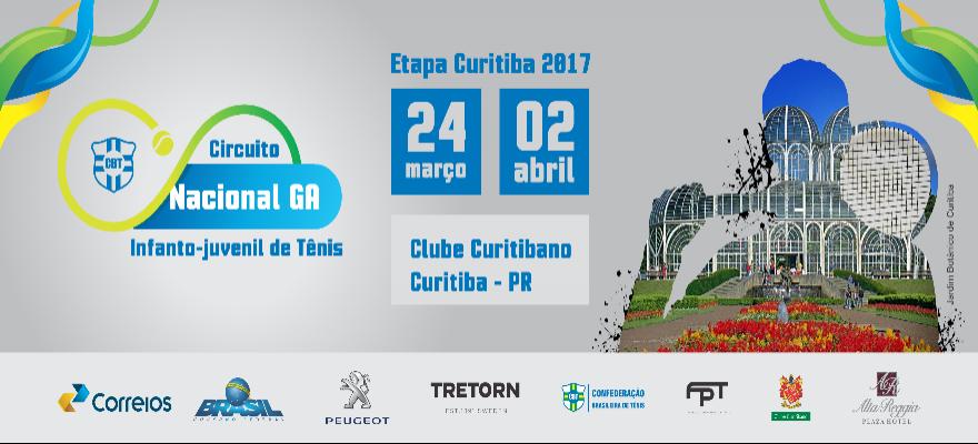Primeira etapa do Circuito Nacional Infanto-Juvenil de Tênis acontece em Curitiba