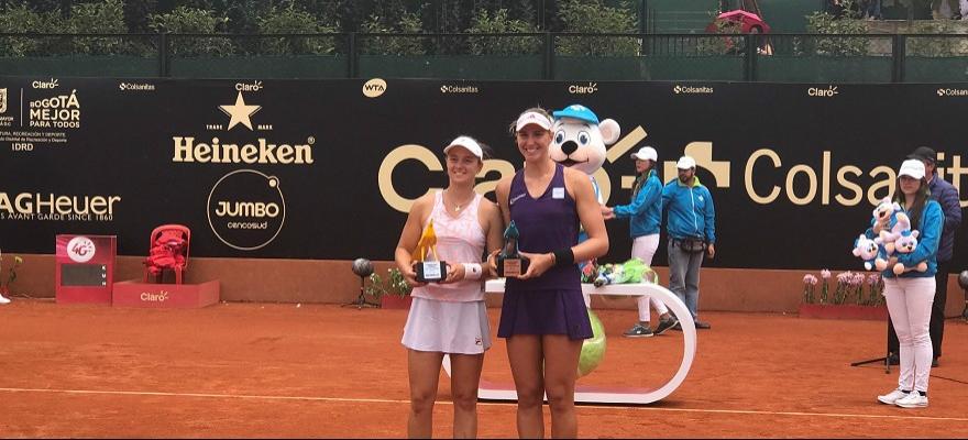 Bia Haddad conquista título de duplas do WTA de Bogotá