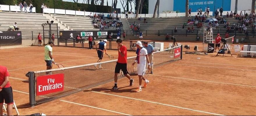 Marcelo Melo vence e está nas quartas no Masters 1000 de Roma