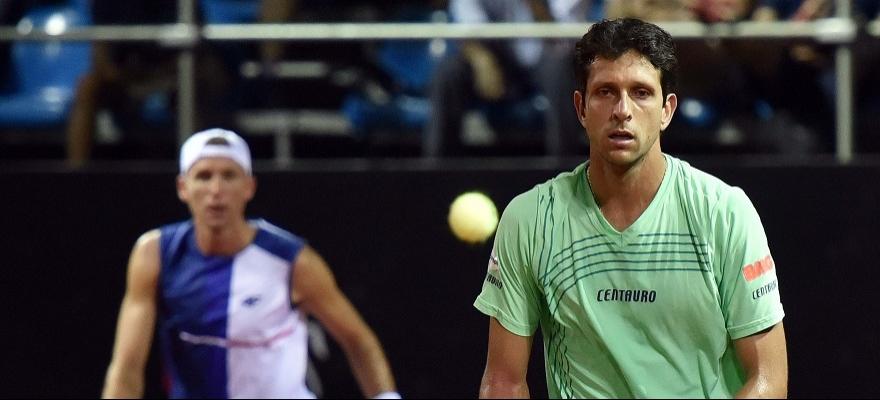Melo está fora do Masters 1000 de Roma e volta ao Brasil
