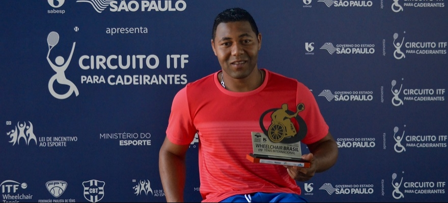 Daniel Rodrigues é campeão do Circuito ITF para Cadeirantes