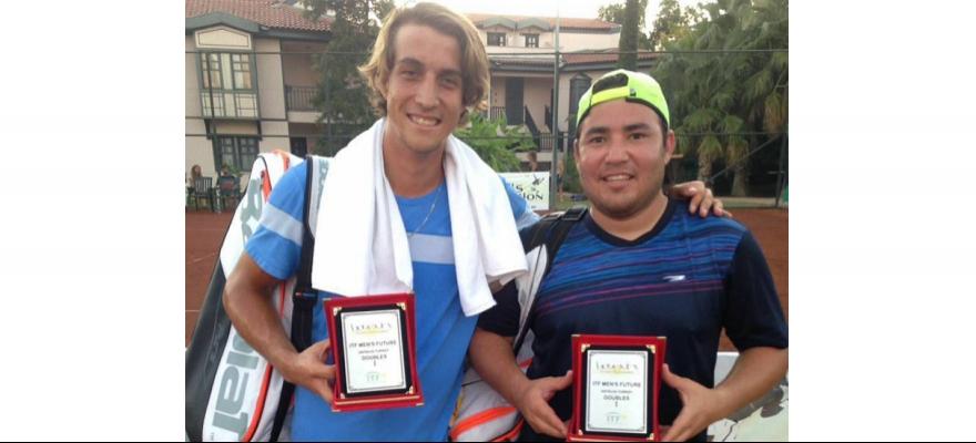Felipe Meligeni é campeão de duplas em Antalya, na Turquia