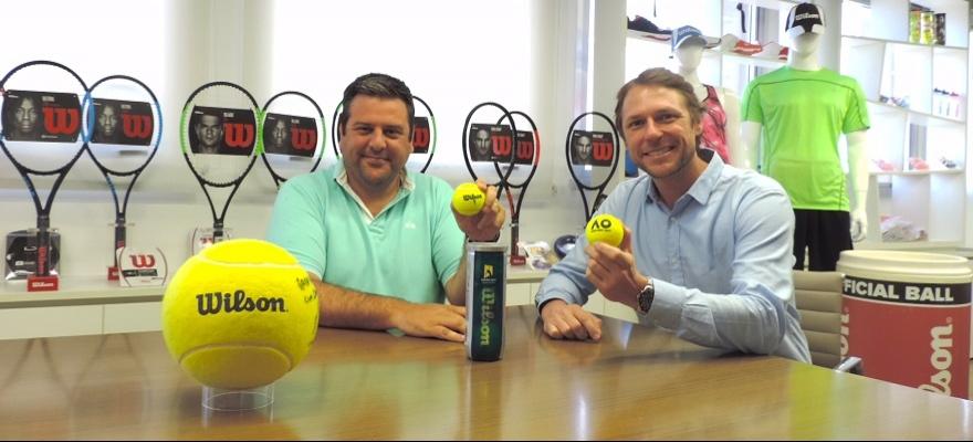 Wilson é a nova marca oficial de bolas de tênis e acessórios da CBT