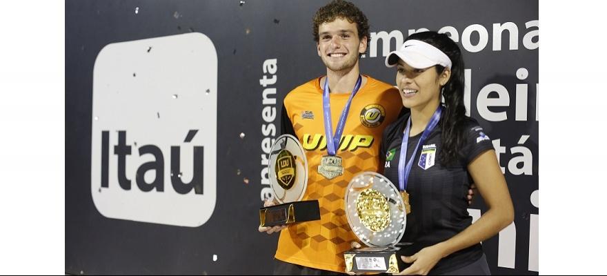Monteiro e Haddad sagram-se campeões da LDU de Tênis 2017