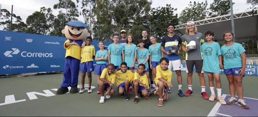 Desafio Correios de Tênis de 2017 encerra temporada brasileira