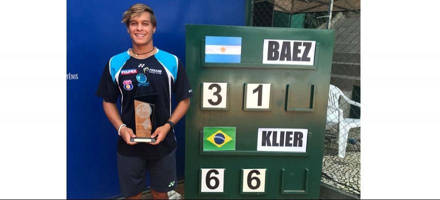 Klier vence novo número 1 do mundo Baez e é campeão da Copa Paineiras