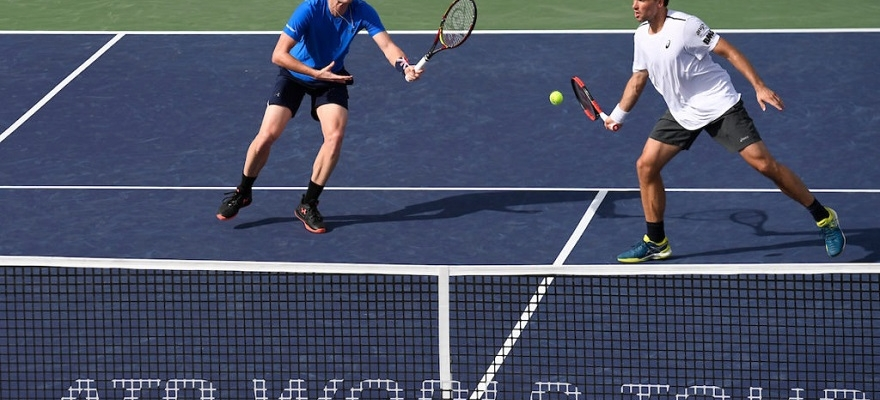 Bruno Soares e Jamie Murray se despedem em Indian Wells