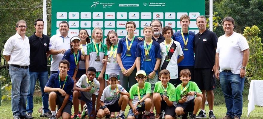 Definidos campeões dos 12 e 14 anos do G1 do Interclubes de Criciúma