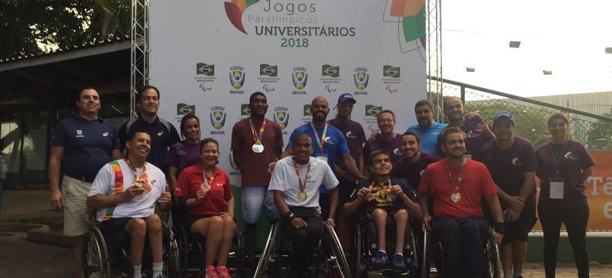 Cadeirantes são destaque nos Jogos Paralímpicos Universitários