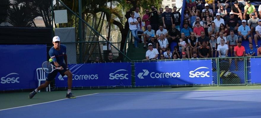 Favoritos, Klier e Oliveira decidem título do Sesc Open de Tênis, no DF