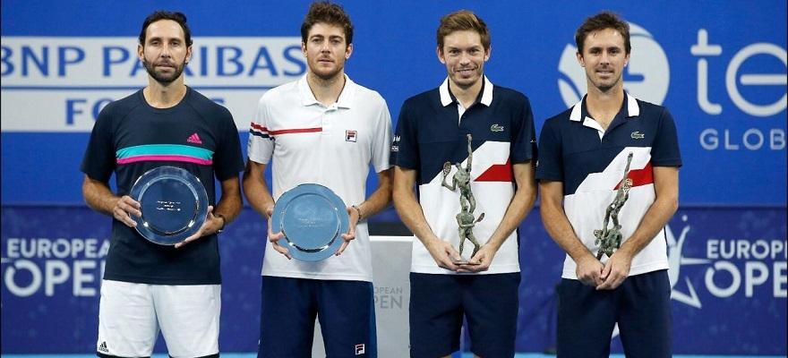 Marcelo Demoliner é vice-campeão de duplas do ATP 250 de Antuérpia