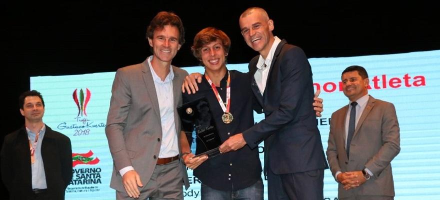 Boscardin é eleito melhor atleta de 2018 e fatura Troféu Gustavo Kuerten