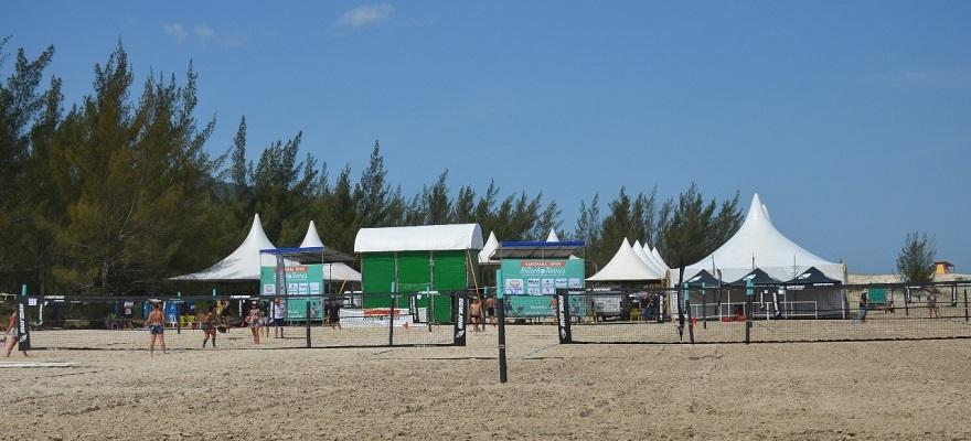 Garopaba Open de Beach Tennis larga nesta quarta com recorde de inscritos