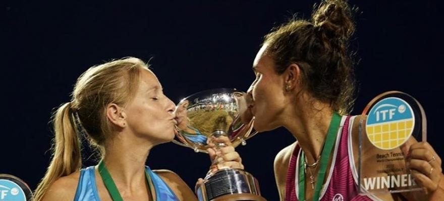Brasileira Rafaella Miiller vence o Campeonato Mundial de Beach Tennis