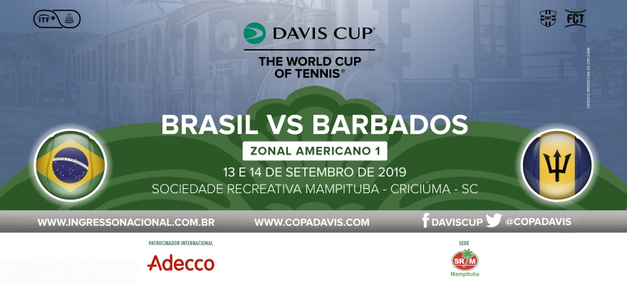 Venda de ingressos para a Copa Davis começa nesta sexta-feira