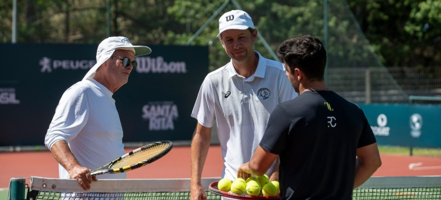 Dia Nacional do Tênis será celebrado nesta terça-feira dentro do Encontro Internacional de Treinamento em Florianópolis
