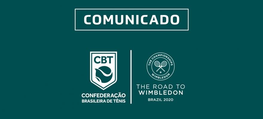 Road to Wimbledon Brasil será adiado