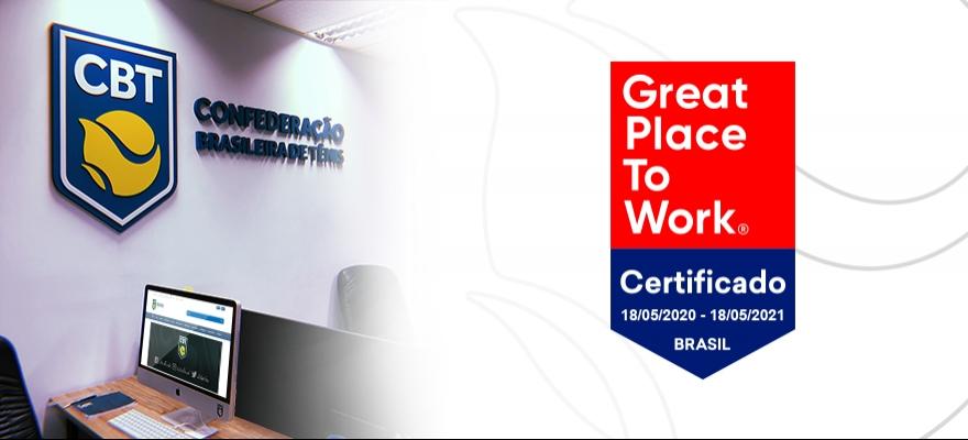 CBT recebe certificação Great Place to Work